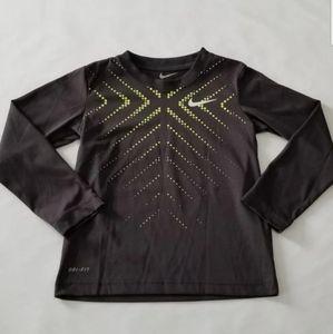 Nike boys Dri Fit long sleeve Tee shirt